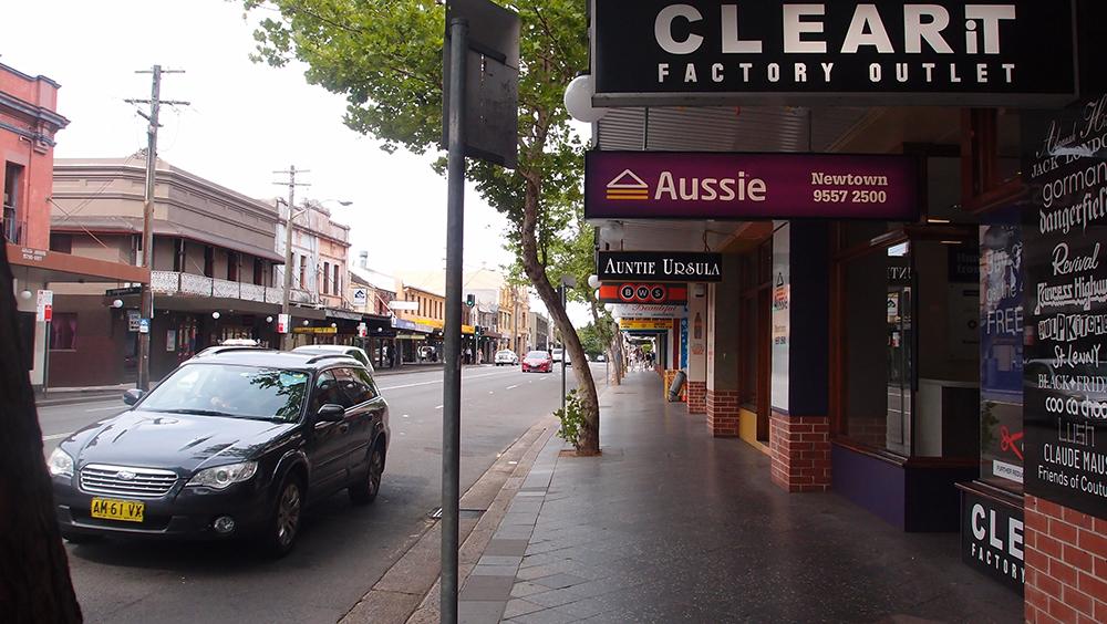 Street in Sydney