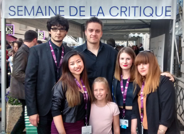 Patrick Vollrath & Team in Cannes