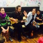 Rhythmik für Flüchtlinge