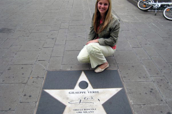 Guiseppe Verdi Walk of Fame