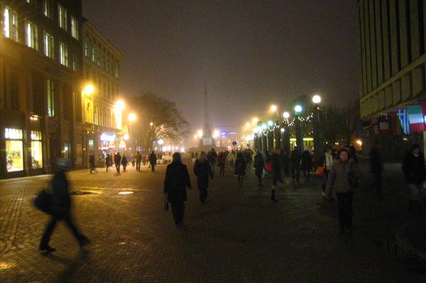 Riga im Winter