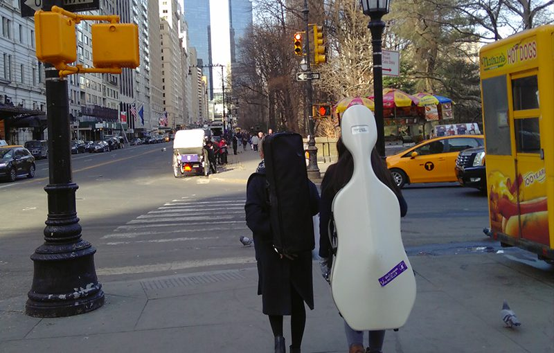 Wir waren noch niemals in New York…