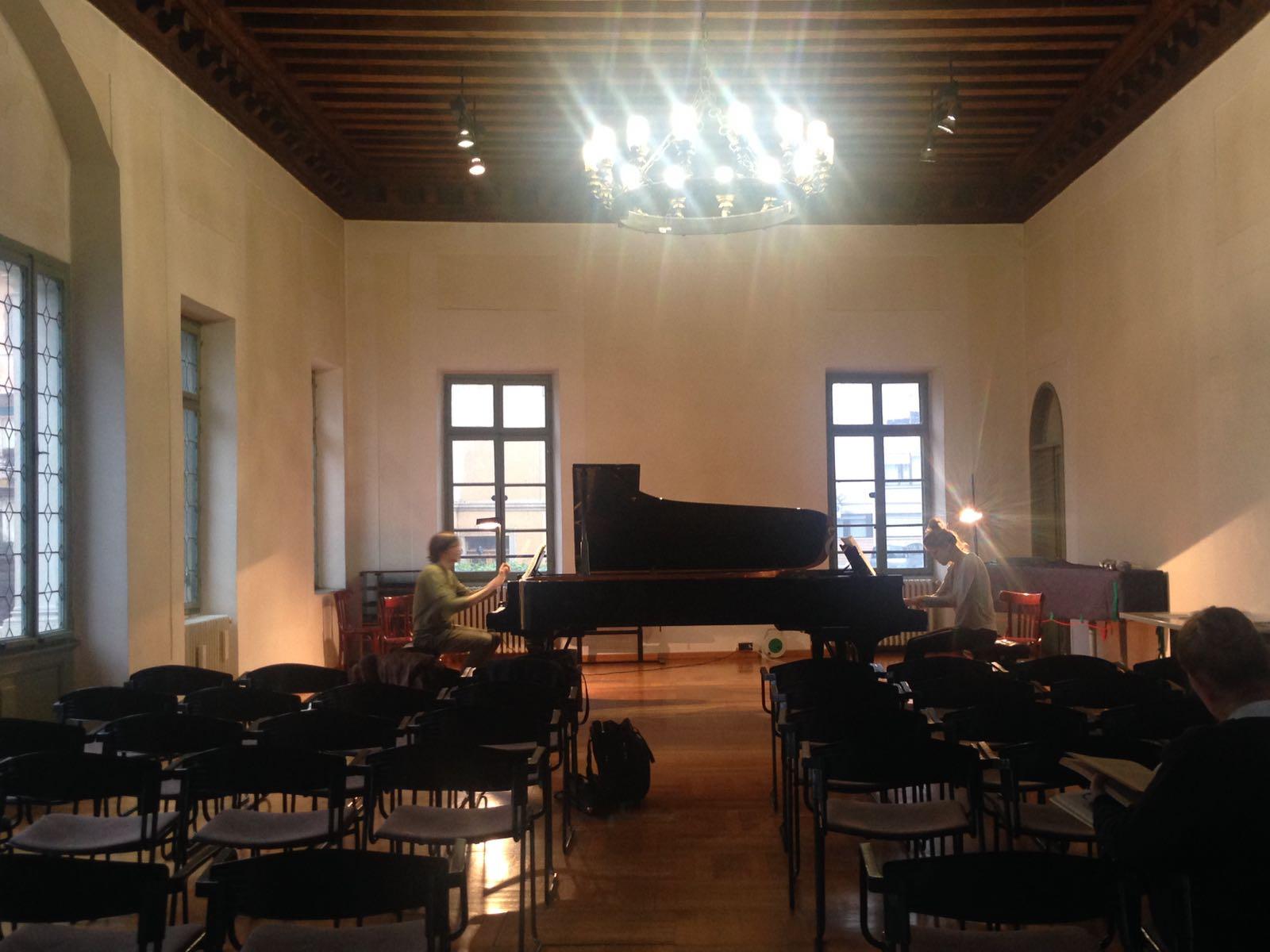 Proben in Udine
