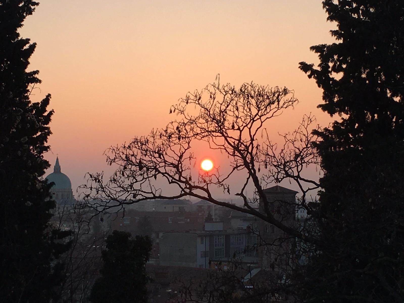 Udine Sonnenuntergang