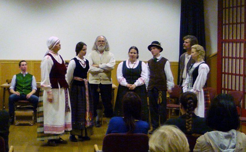 """mdw-Studierende singen die Litauische """"Sutartinės"""""""