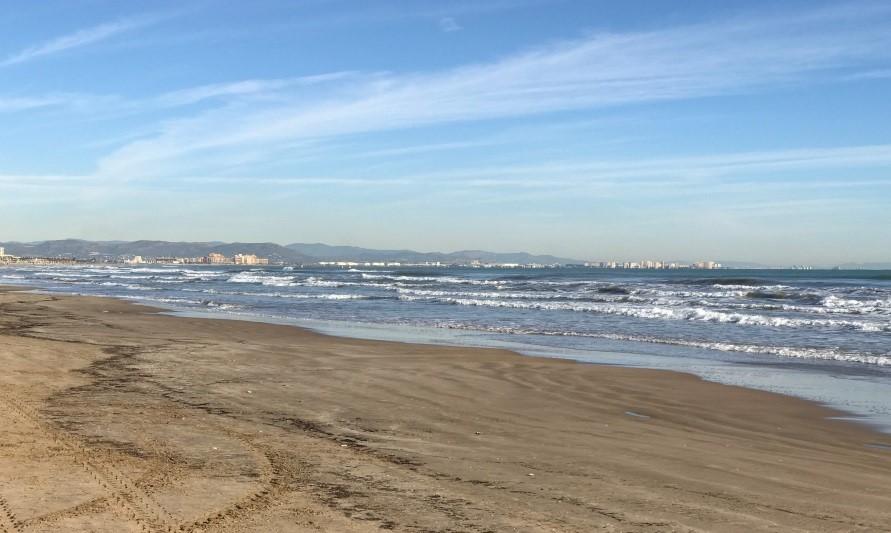 Strand von Valencia