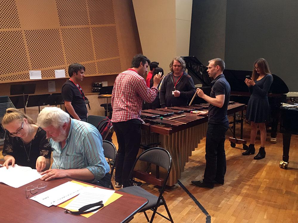 Workshop an der Cité de la musique