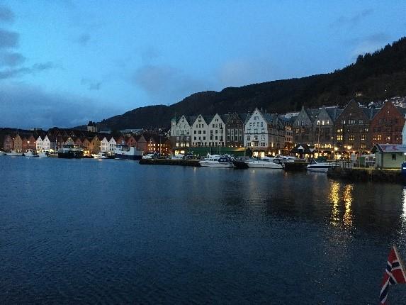 Hafen und Hanse-Häuser