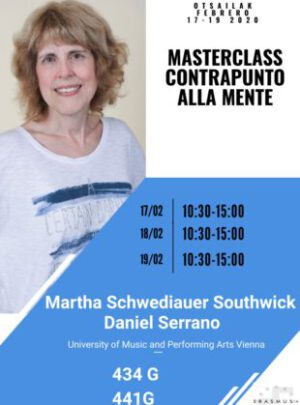 workshop-poster with picture and text