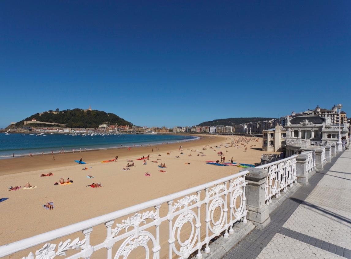 Strandpromenade Playa de la Concha