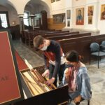 Harpsichord and Continuo Teacher Smuggled into Ljubljana, Slovenia!